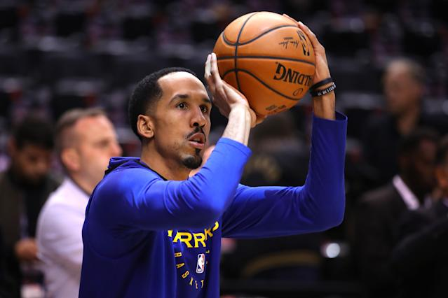 """<a class=""""link rapid-noclick-resp"""" href=""""/nba/players/3821/"""" data-ylk=""""slk:Shaun Livingston"""">Shaun Livingston</a> had been a fixture on the Warriors' bench for five years. (Photo by Gregory Shamus/Getty Images)"""