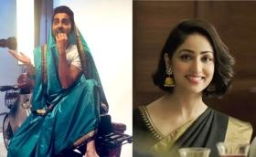 In Pictures: Bollywood drapes into the #SareeTwitter challenge