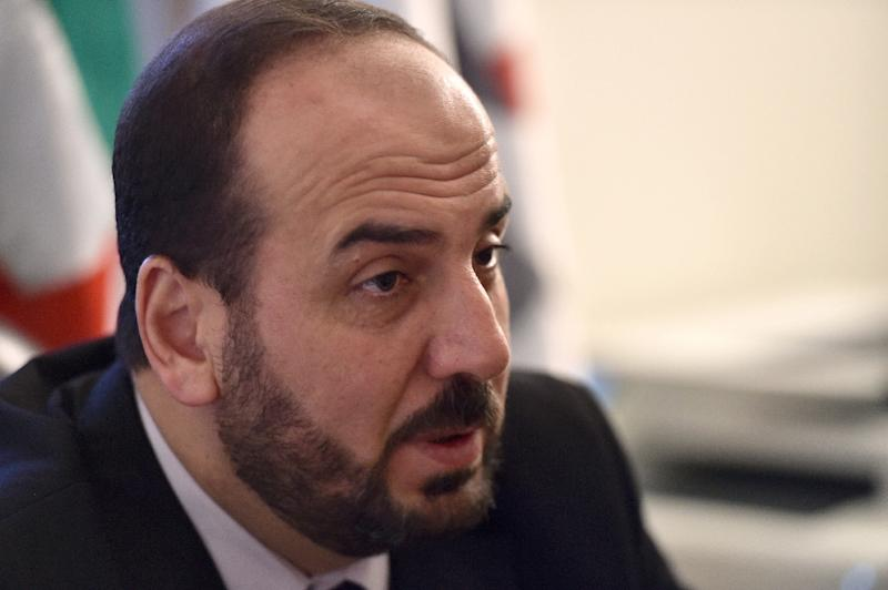 Nasr al-Hariri is the Syrian opposition's chief negotiator