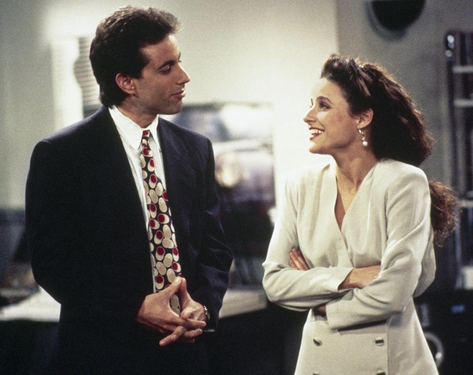 <p>Although its established early on in the show that Jerry and Elaine dated in the past, the show dangled a very <em>When Harry Met Sally</em> vibe throughout the show in front of viewers.</p>