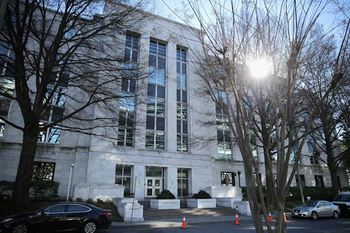 The Saudi Arabian Embassy in Washington, D.C. (Chip Somodevilla/Getty Images)