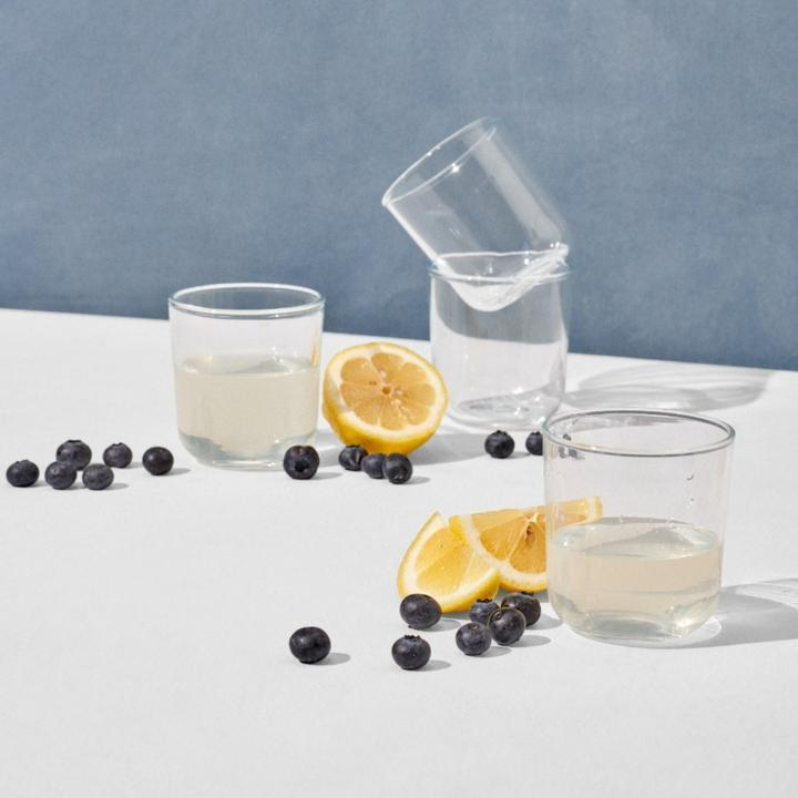 """<h2>Short Drinking Glass Set</h2><br>Can't you picture these in a curated Instagram shot? We can. Made from hand-blown glass, no two glasses are identical with this luxe set. <br><br><strong>rigby home</strong> Short Drinking Glass Set, $, available at <a href=""""https://go.skimresources.com/?id=30283X879131&url=https%3A%2F%2Frigbyhome.com%2Fproducts%2Fshort-drinking-glass-set"""" rel=""""nofollow noopener"""" target=""""_blank"""" data-ylk=""""slk:rigby home"""" class=""""link rapid-noclick-resp"""">rigby home</a>"""