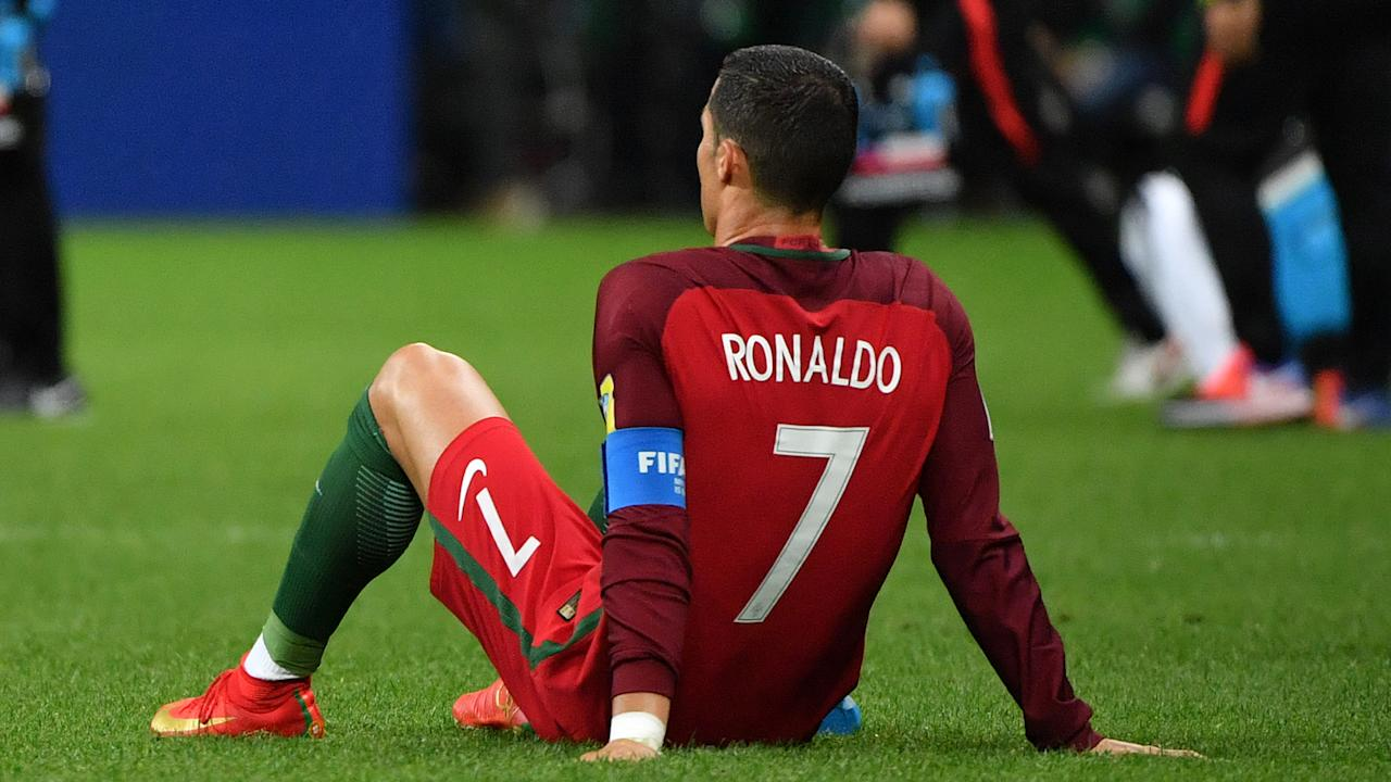 After Portugal's Confederations Cup loss, the Real Madrid star confirmed the arrival of two boys