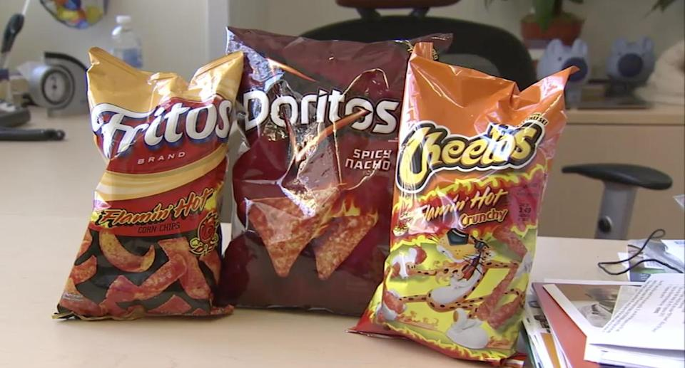 Several chip brands have come out and said their products are perfectly safe to eat in moderation. Source: ABC 30