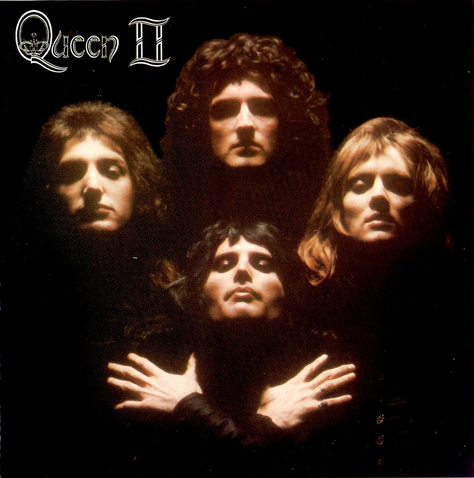 """Queen - Queen II (1974)<br><br>The art for the rock group's second album may be more famous than the album itself. The cover photograph by Mick Rock was re-used by the band, notably for the video of the song <a href=""""http://en.wikipedia.org/wiki/Bohemian_Rhapsody""""><span style=""""color:windowtext;text-decoration:none;""""></span></a>""""Bohemian Rhapsody."""""""
