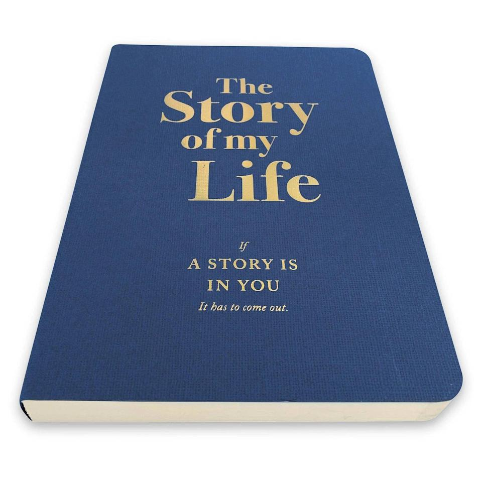 <p>If they love to journal, they will appreciate this thoughtful <span>The Story of My Life Activity Journal - Piccadilly</span> ($10). Their journey is just beginning! </p>