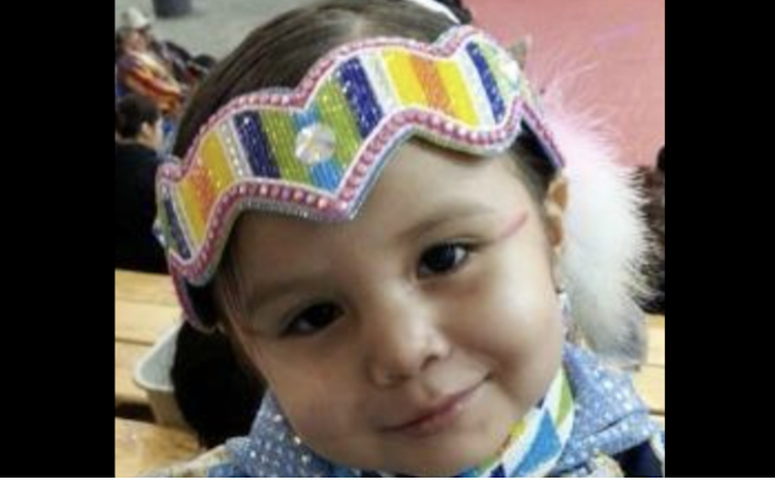Eight-year-old Mildred Alexis Old Crow was last scene on Crow Indian Reservation in March 2019 (FBI)