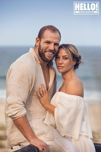 james haskell and wife chloe madeley in australia