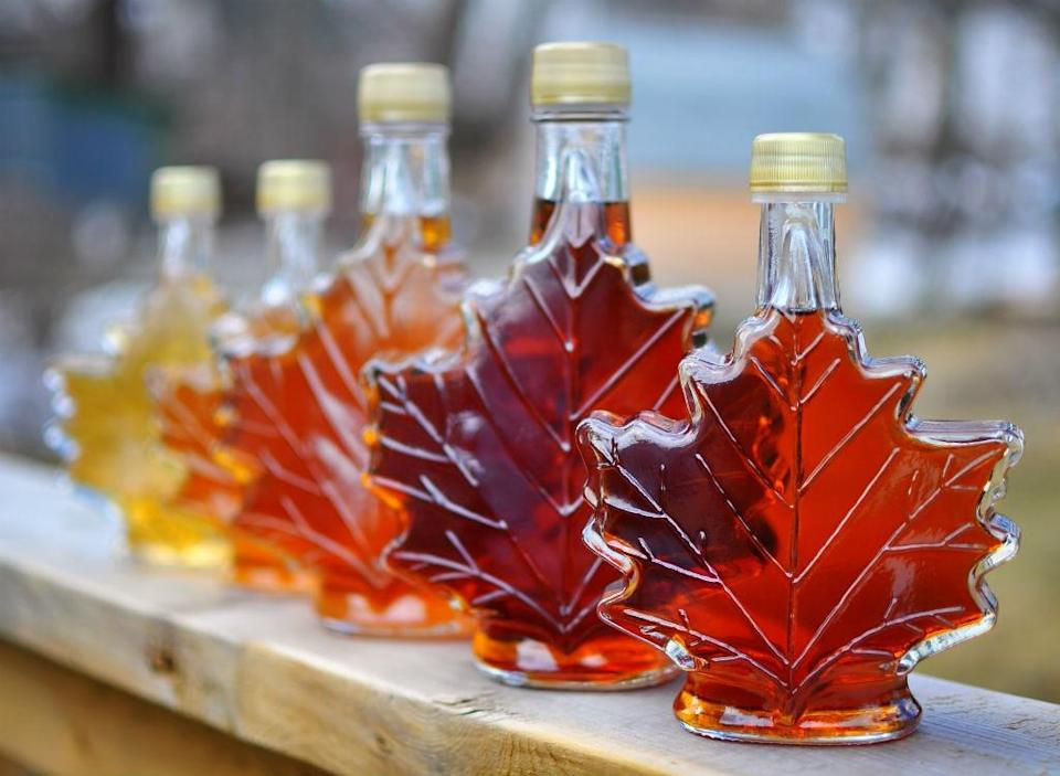"""Mineral-rich maple syrup may not be an option to drench your waffles with if climate change abides by a bleak trajectory. """"Just fifty years ago a sugar maple's sap was four percent sugar, now it's two,"""" Barry Rock, a leading forest scientist and Professor of Natural Resources at the University of New Hampshire who has studied sugar maples for over 25 years, tells <em><a rel=""""nofollow noopener"""" href=""""https://www.nationalgeographic.com/people-and-culture/food/the-plate/2015/12/02/global-warming-pushes-maple-trees-syrup-to-the-brink/"""" target=""""_blank"""" data-ylk=""""slk:National Geographic"""" class=""""link rapid-noclick-resp"""">National Geographic</a></em>, adding that there's a direct correlation between the syrup's sweetness reduction and temperature rise since 1970 (since sugar maples require freezing temperatures). """"Because of the lower sugar content, more sap is needed to bring the maple syrup to its required 66.9 percent sugar content in the finished product. So while it used to take 25 gallons of sap to make a gallon of pure maple syrup, it now takes 50."""""""