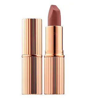 """Get this <a href=""""https://fave.co/31STyS9"""" target=""""_blank"""" rel=""""noopener noreferrer"""">Charlotte Tilbury Matte Revolution Lipstick on sale</a>(normally $34) during Sephora's Holiday Savings Eventwith code<strong>HOLIDAYFUN</strong>at checkout."""
