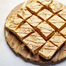 """<p>We've turned the nation's favourite biscuit spread into a no-bake refrigerator cake! If you can't find mini marshmallows use large ones and roughly chop them, or snip into smaller pieces with scissors, before using.</p><p><strong>Recipe: <a href=""""https://www.goodhousekeeping.com/uk/food/recipes/a36488508/biscoff-refrigerator-cake/"""" rel=""""nofollow noopener"""" target=""""_blank"""" data-ylk=""""slk:Biscoff Refrigerator Cake"""" class=""""link rapid-noclick-resp"""">Biscoff Refrigerator Cake</a></strong></p>"""