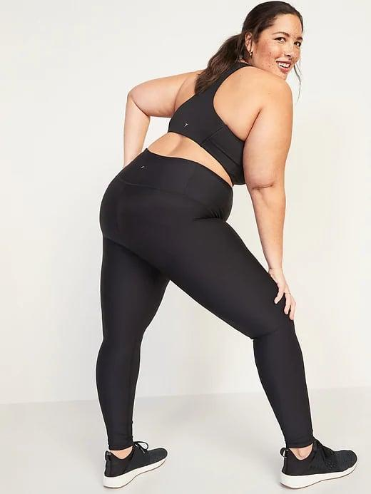<p>Every workout wardrobe needs a great pair of black leggings, and we like these <span>Old Navy Extra High-Waisted Powersoft Light Compression Hidden-Pocket Leggings</span> ($43).</p>