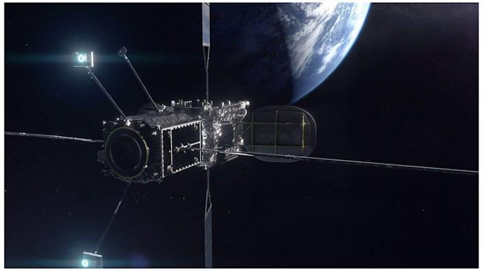 MEV attaches to a satellite