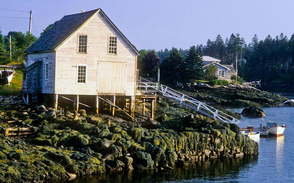 """<p>Boothbay Harbor ranks as one of the busiest tourist havens on Maine's Mid Coast, but nearby Southport Island, accessed only via a swing bridge, has a more low-key vibe: old Cape Codstyle Colonial houses; small country stores; winding roads. On the way to town, you'll spot the 40-year-old <strong>Robinson's Wharf</strong> <em>(20 Hendricks Hill Rd.; 207/633-3830; lunch for two $65),</em> one of the state's most revered seafood shacks, serving fresh lobster, shrimp, and oysters. Snag a table on the dock facing Townsend Gut. A 20-minute walk away, <strong>Ocean Gate Resort</strong> <em>(800/221-5924; <a href=""""http://www.oceangateinn.com/"""" rel=""""nofollow noopener"""" target=""""_blank"""" data-ylk=""""slk:oceangateinn.com"""" class=""""link rapid-noclick-resp"""">oceangateinn.com</a>; doubles from $104)</em> has free canoes for self-paddling tours of the Gut's sheltered waters. Toward the island's far end, the 30-room, oceanfront <strong>Newagen Seaside Inn</strong> <em>(60 Newagen Colony Rd.; <a href=""""http://www.newagenseasideinn.com/"""" rel=""""nofollow noopener"""" target=""""_blank"""" data-ylk=""""slk:newagenseasideinn.com"""" class=""""link rapid-noclick-resp"""">newagenseasideinn.com</a>; doubles from $140),</em> with three clapboard cottages, abuts a quaint fishing harbor. This is classic Maine at its best.</p><p><strong>T+L Tip:</strong> Plan a picnic on Southport Beach, overlooking Hendricks Head lighthouse. -<em>Jeff Wise</em></p>"""