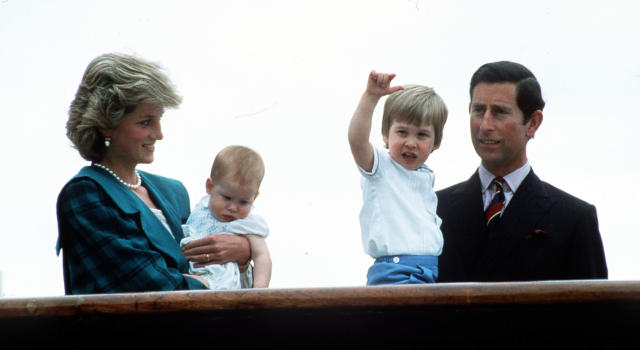 Princess Diana didn't like Prince Charles's baby name suggestions. (Photo: PA)