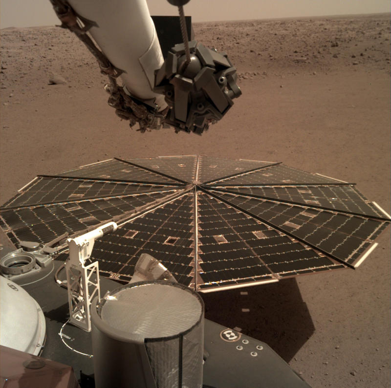 Hear the First Sounds from Mars Straight From NASA's InSight Lander