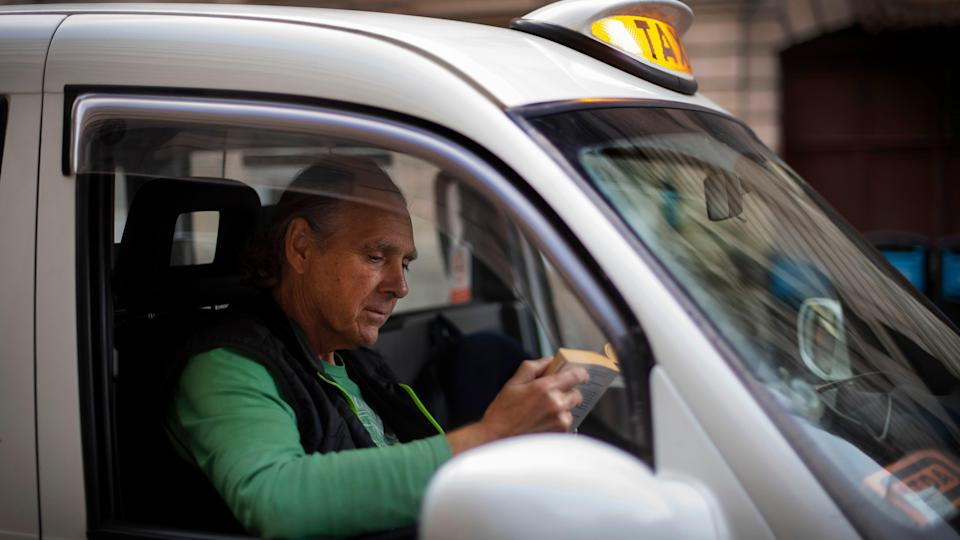 Taxi Drivers Being Versatile During Pandemic
