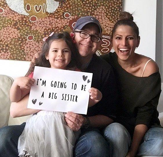 Annabelle Grace, 4, announced the pregnancy this week on social media