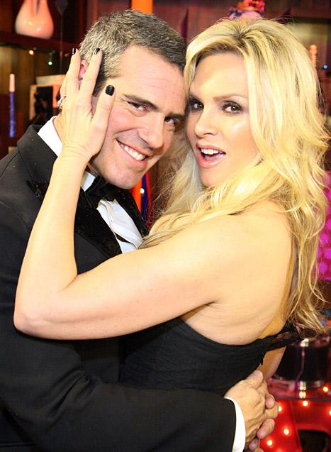 Tamra Barney Flashes Andy Cohen!