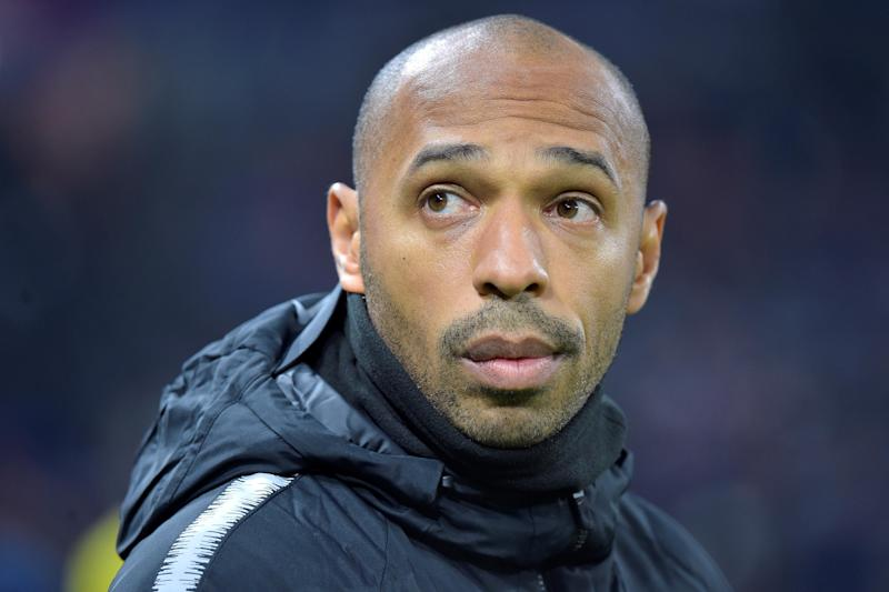 Monaco coach Thierry Henry suspended - club