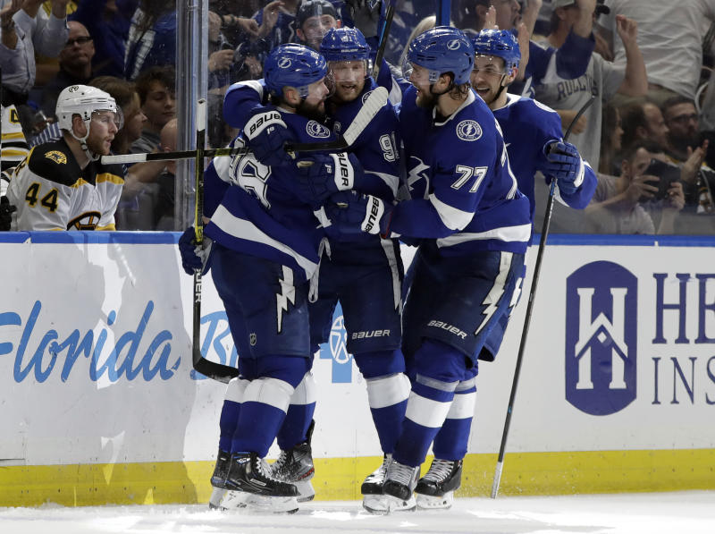 3b66aad5b38 2019 Stanley Cup Playoffs schedule  Lightning vs. Blue Jackets kicks off  first round on Wednesday