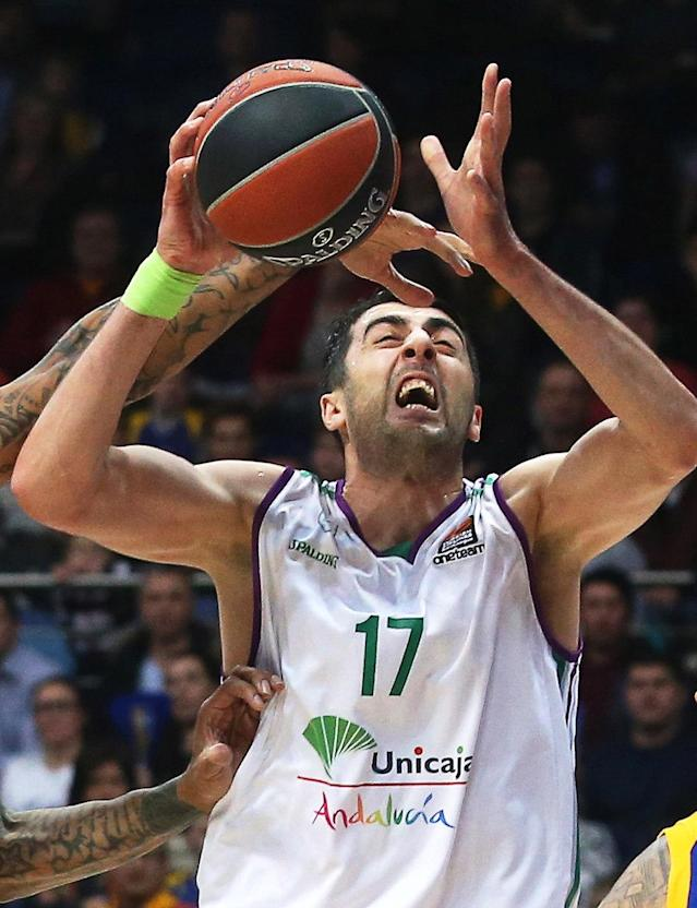 Moscow (Russian Federation).- (FILE) - Tyler Honeycutt during the Euroleague basketball match between Khimki Moscow Region and Unicaja Malaga in Moscow, Russia, 02 February 2018, (reissued 08 July 2018). Media reports on 08 July 2018 state that Tyler Honeycutt has died after a shooting incident with US police. Los Angeles Police Department report that it appears as if the suspect was not struck by any officer'Äôs gunfire. The suspect appears to have sustained injuries consistent with a self-inflicted gunshot wound. (Euroliga, Baloncesto, Incendio, Moscú, Rusia, Estados Unidos) EFE/EPA/MAXIM SHIPENKOV *** Local Caption *** 54082976