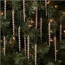 <p>These <span>14ct Glitter Icicle Christmas Ornament</span> ($3) are ideal for adding some variety to your ornament collection. </p>