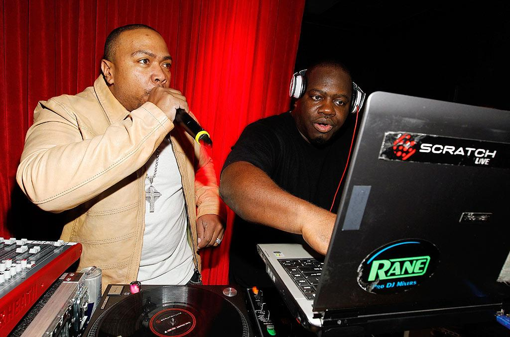 "Even though Timbaland's actual birthday was over a month ago (he turned 38 on March 10), in LA the party never ends! Christopher Polk/<a href=""http://www.wireimage.com"" target=""new"">WireImage.com</a> - April 28, 2010"