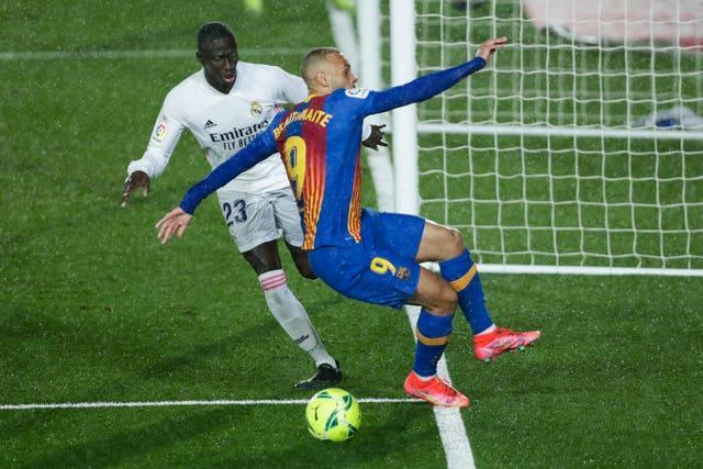 Koeman believes Ferland Mendy fouled Barcelona striker Martin Braithwaite late on