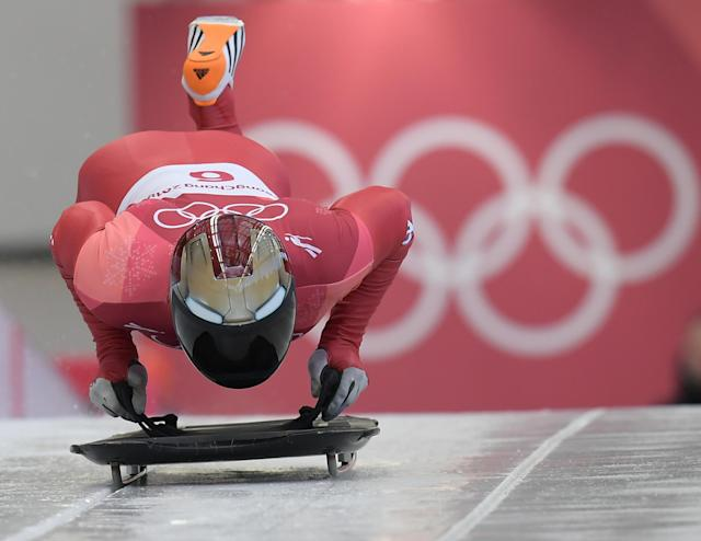<p>Iron Man in the Olympics? Iron Man in the Olympics! </p>