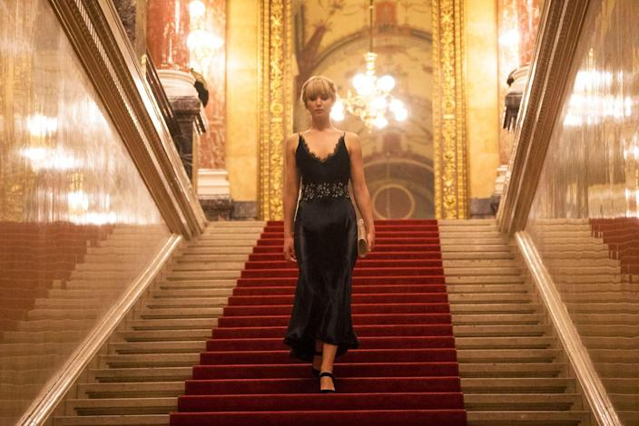 "<p>The <em>Hunger Games</em> actress traded in her bow and arrow for a pair of ballet slippers in <em>Red Sparrow</em>, and it wasn't an easy feat. ""It was really brutal. I have so much respect for those athletes / artists. It's amazing what they do, but as soon as I wrapped the ballet scene, I threw my shoes in the trash. Done,"" <a href=""https://www.eonline.com/news/916813/jennifer-lawrence-gets-real-about-learning-ballet-for-red-sparrow-it-was-really-brutal"" rel=""nofollow noopener"" target=""_blank"" data-ylk=""slk:J.Law told E! News"" class=""link rapid-noclick-resp"">J.Law told <em>E! News</em></a>. She practiced ballet for three months for three hours a day with the same coach who worked with both Natalie Portman and Mila Kunis in <em>Black Swan</em>.</p>"