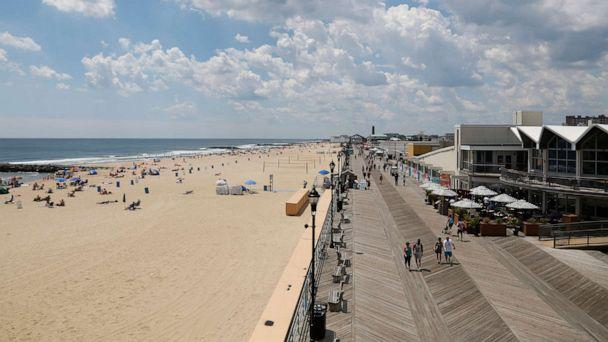 PHOTO: In this June 21, 2017, file photo, the beach and the boardwalk are seen in Asbury Park, N.J. (Seth Wenig/AP, FILE)