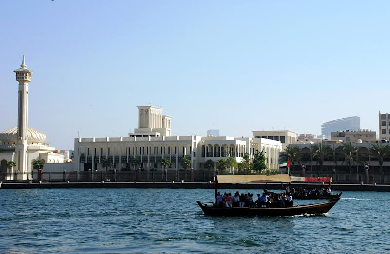 A view of Deira Creek in Dubai.