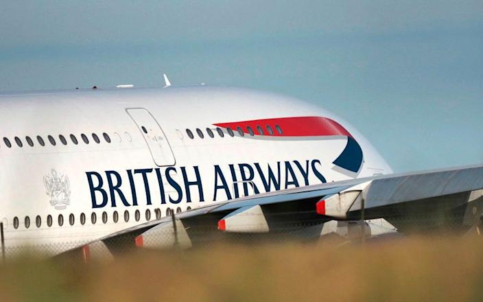 BA's new in-flight meal service will reduce contact between passengers and cabin crew