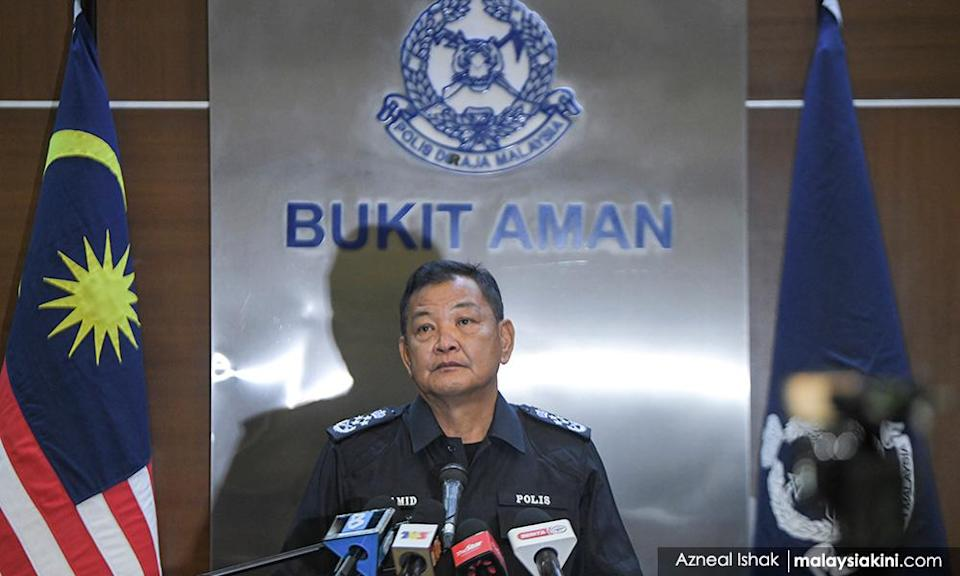 IGP calls out 'traitors' in blue, 34 officers linked to 'Geng Nicky'