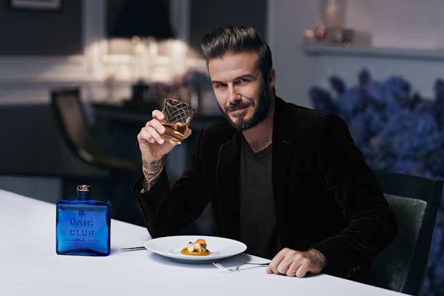 <p>Retired soccer superstar David Beckham recently teamed up with entrepreneur Simon Fuller and London-based Diageo to promote single grain scotch whisky Haig Club. Sold in a distinctive blue bottle, the whisky is light and sweet, and manufactured in Cameron Bridge distillery near Fife, Scotland. (Haig Club) </p>