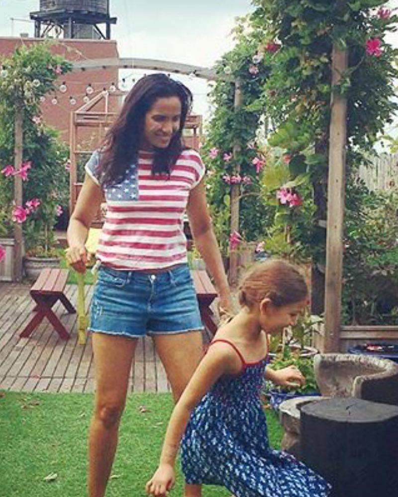 """<p>Padma Lakshmi got in festive spirit with her little girl. """"Happy 4th of July from our family to yours!!!#littlehands #mommyandme,"""" she captioned this photo with her daughter, Krishna. (Photo: Padma Lakshmi <a rel=""""nofollow noopener"""" href=""""https://www.instagram.com/p/BWIKbExlsjU/"""" target=""""_blank"""" data-ylk=""""slk:via Instagram"""" class=""""link rapid-noclick-resp"""">via Instagram</a>)<br><br></p>"""