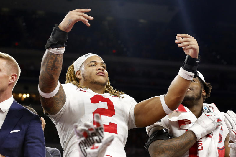 Ohio State's Chase Young could be a great fit with the Washington Redskins. (Photo by Justin Casterline/Getty Images)