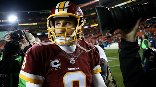 """Kirk Cousins would """"seriously consider"""" joining the Browns should the Redskins not sign him to a long-term deal or franchise tag him again."""
