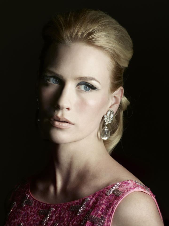 "January Jones stars as Betty Francis in ""<a target=""_blank"" href=""http://tv.yahoo.com/mad-men/show/39828"">Mad Men</a>."""