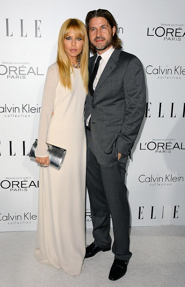 BEVERLY HILLS, CA - OCTOBER 15:  Stylist Rachel Zoe and Rodger Berman arrive at ELLE's 19th Annual Women In Hollywood Celebration at the Four Seasons Hotel on October 15, 2012 in Beverly Hills, California.  (Photo by Frazer Harrison/Getty Images)