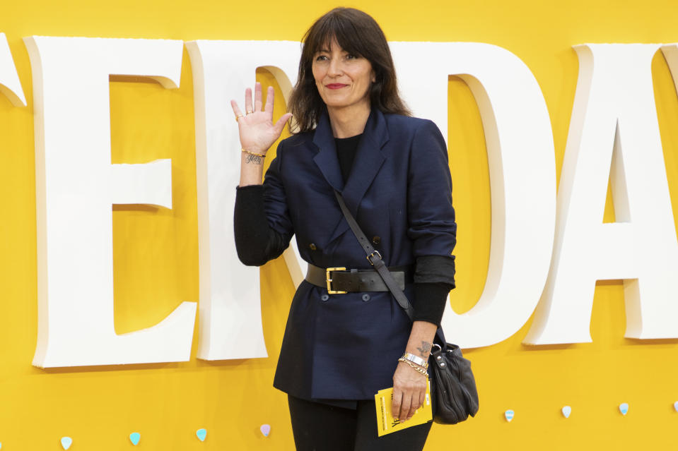 Davina McCall poses for photographers upon arrival at the premiere of the film 'Yesterday' in London, Tuesday, June 18, 2019. (Photo by Vianney Le Caer/Invision/AP)