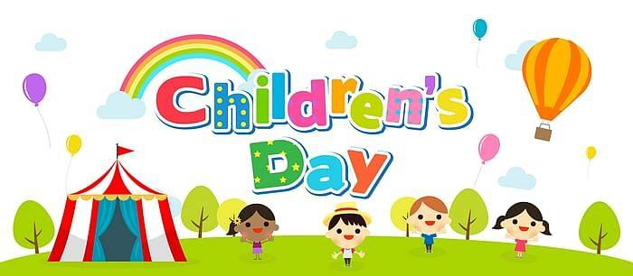 Children's day image for sharing on WhatsApp and Facebook
