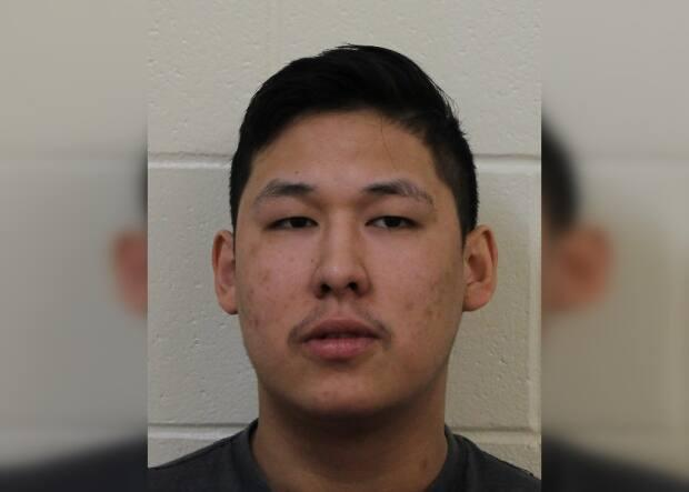 Colton Bear was last seen at a home on Standing Buffalo Dakota First Nation. Police say he may still be there, or he could be in Fort Qu'Appelle, but this has not been confirmed. He is considered dangerous and should not be approcahed.  (RCMP - image credit)