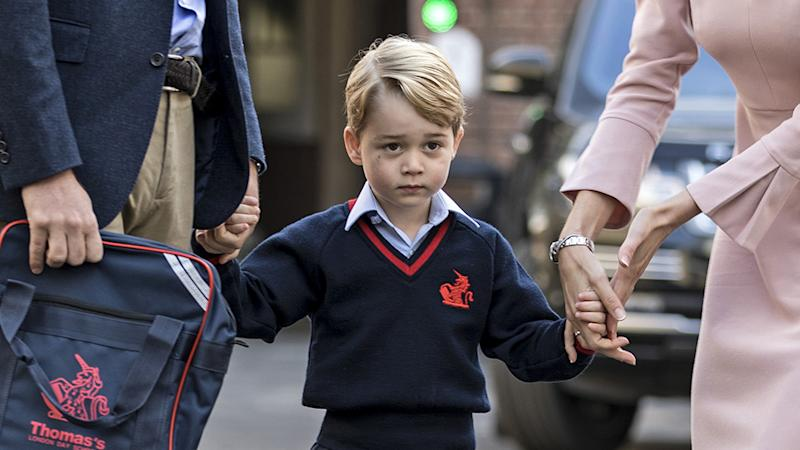 Prince George's love of the ballet in his school curriculum has been unexpectedly mocked on US TV. Photo: Getty Images