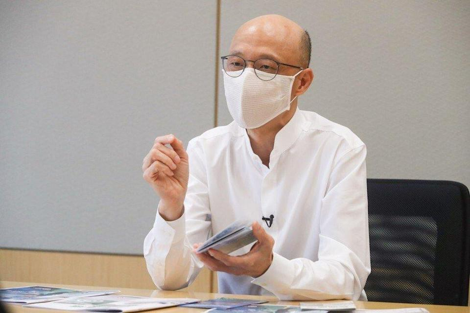 Environment secretary Wong Kam-sing wants Hong Kong to catch up with cities such as Tokyo on air quality. Photo: Edmond So