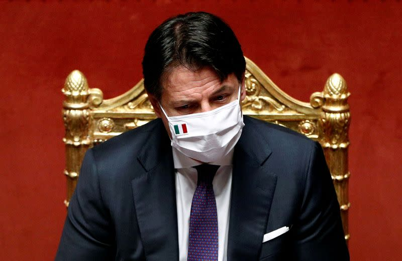 Italy may adopt targeted closures against coronavirus: PM to paper