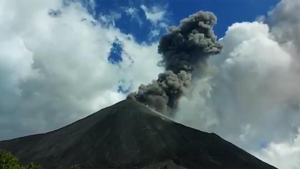 Volcano in Guatemala has erupted for 50 days, closes airport