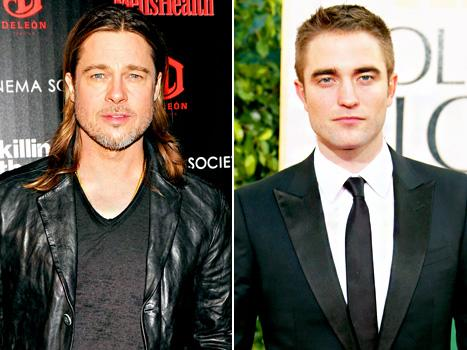 """Brad Pitt Talks Drug Use, Says He Had an """"Epiphany"""" 10 Years Ago; Robert Pattinson Moves Out of Kristen Stewart's Home: Today's Top Stories"""