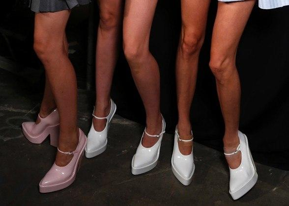 """<div class=""""caption-credit""""> Photo by: Kyle Ericksen/Conde Nast Digital Studio</div><div class=""""caption-title""""></div><b>Alexander Wang</b> <br> The Barbie pump just got some serious swagger, thanks to super, super-exaggerated proportions. <br> <b>More from <i>Lucky</i>:</b> <br> <b><a rel=""""nofollow"""" target="""""""" href=""""http://www.luckymag.com/beauty/2011/12/40-Drugstore-Classics?mbid=synd_yshine"""">The 40 Best Drugstore Beauty Products</a> <br> <a rel=""""nofollow"""" target="""""""" href=""""http://www.luckymag.com/blogs/luckyrightnow/2012/09/50-Unique-Engagement-Rings?mbid=synd_yshine"""">50 Unique Engagement Rings</a></b> <br>"""